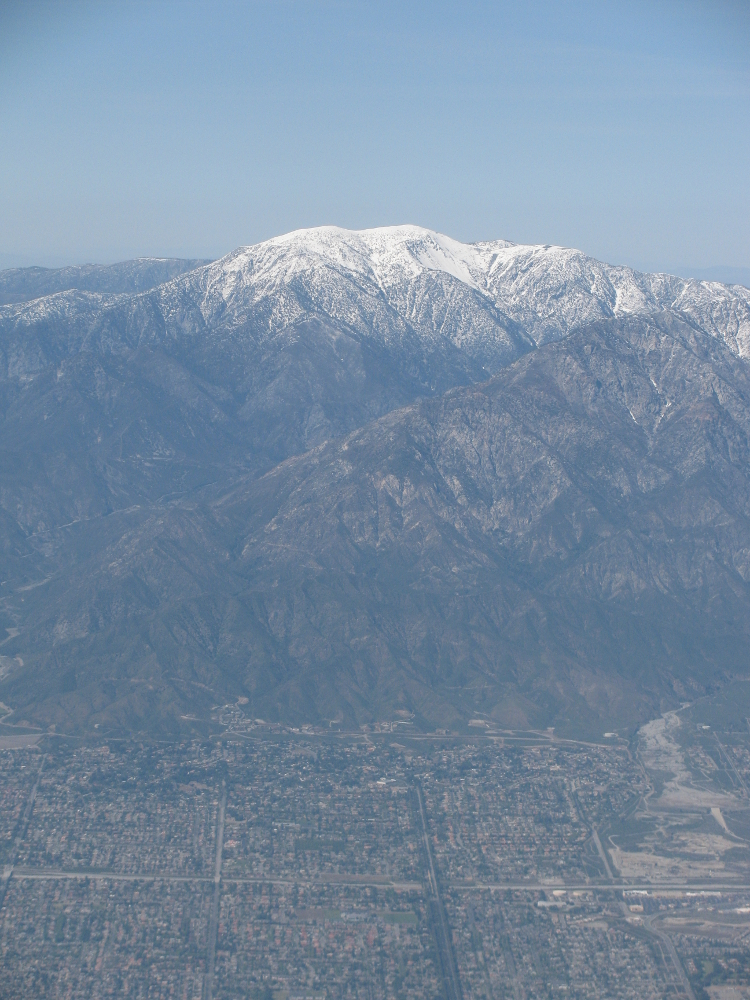 Mount San Antonio - or Mount Baldy as we know it