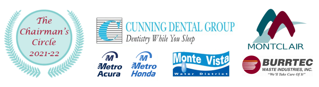 Chairman's Circle 2019 - 20: Cunning Dental Group, City of Montclair, Wells Fargo, Great Metro Autogroup, Monte Vista Water District